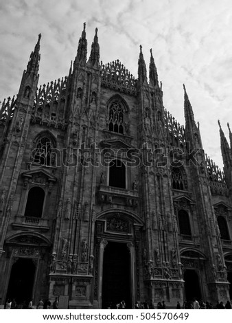 Milan, Italy cathedral