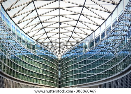 Milan, Italy - March 10, 2016: Palazzo Lombardia in Milan, This building is Lombardy regional government seat and was designed by Pei Cobb Freed & Partners