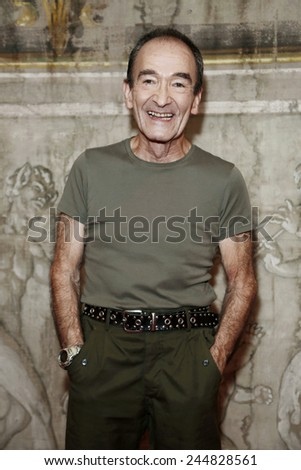 MILAN, ITALY - OCTOBER 16 : Singer and actor Barry Dennen attends 'Jesus Christ Superstar' photo-call at Arcimboldi Theatre on October 16, 2014 in Milan, Italy.