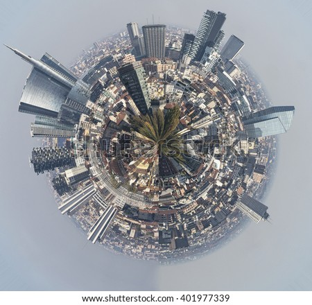 Milan little planet