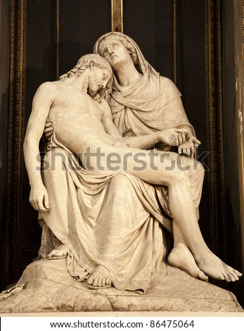 Milan - Pieta from Sant Alessandro church
