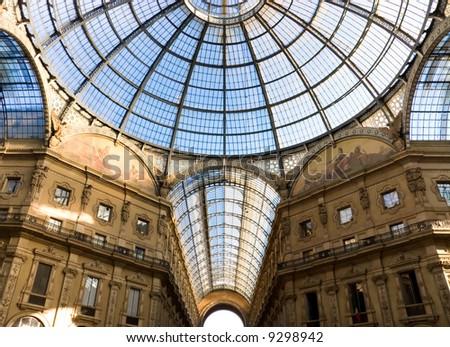 Milan trade center. Popular tourist place. - stock photo