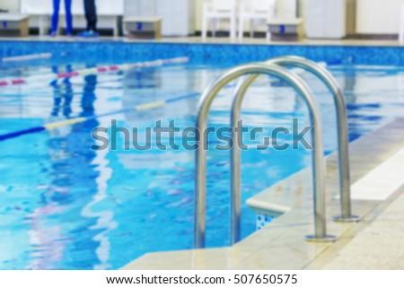 Swimming Pool Lanes Background