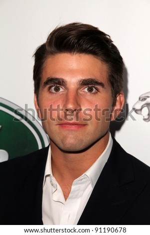 Miles Fisher at the Jaguar Land Rover Preview Reception For 2011 Los Angeles Auto Show, Two Rodeo, Beverly Hills, CA 11-15-11 - stock photo