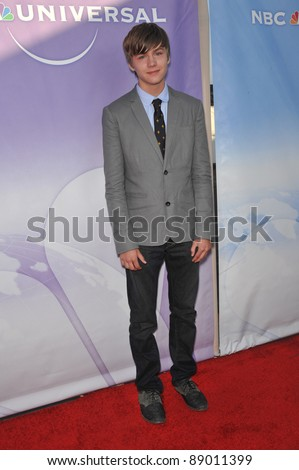 """Miles Heizer - star of """"Parenthood"""" - at NBC Universal TV Summer Press Tour Party in Beverly Hills.  July 30, 2010  Los Angeles, CA Picture: Paul Smith / Featureflash - stock photo"""