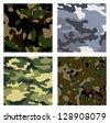 military backgrounds - stock vector