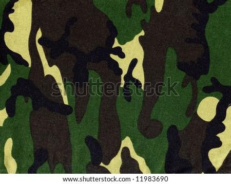 Military  camouflage - stock photo