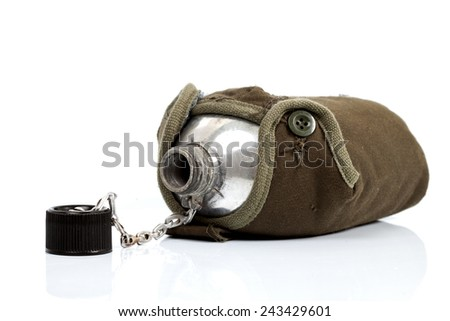 Military Canteen  - stock photo