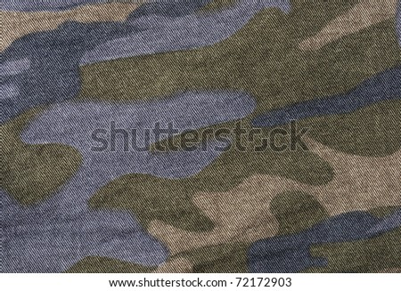 Military fabric pattern - stock photo