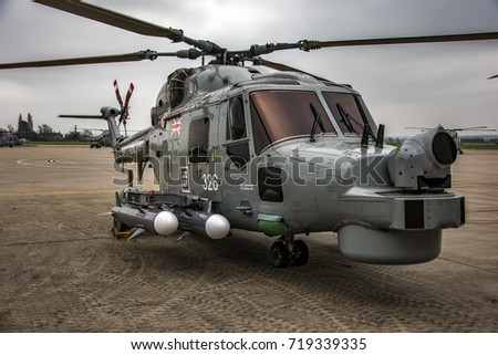 Military Helicopter Lynx HMA8