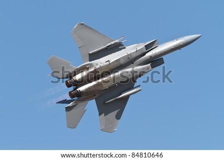 military jet - stock photo