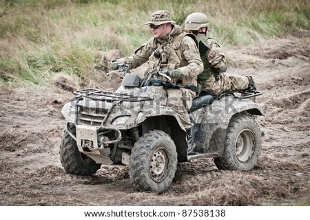 military off road