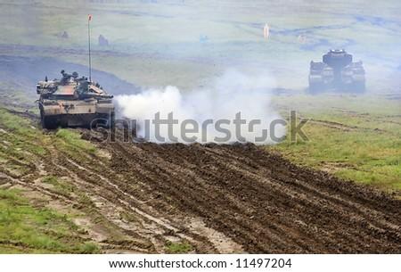 Military operation - stock photo