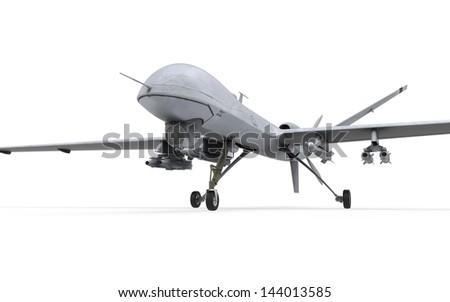 Military Predator Drone - stock photo