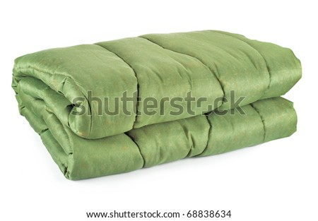 Military quilt - stock photo