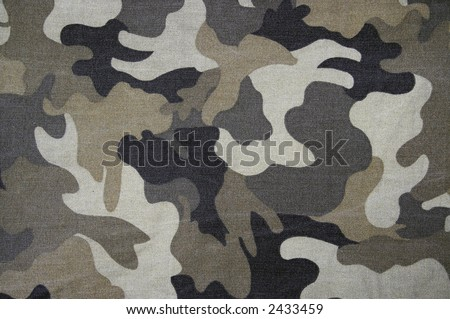 Military texture (grey, black, marsh colors) - stock photo