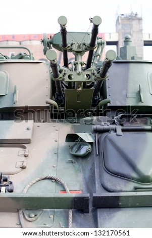 Military vehicle - stock photo