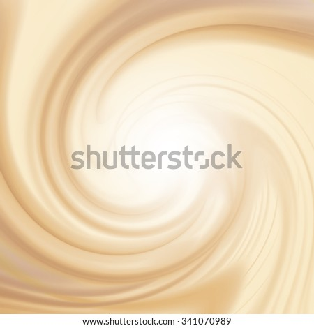 milk and coffee swirl background texture - stock photo