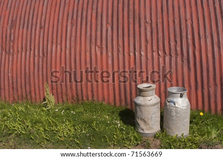 Milk Churn - stock photo