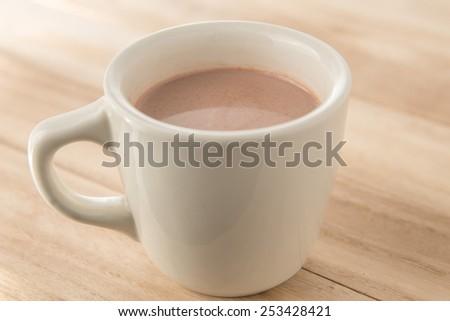 milk cocoa - stock photo