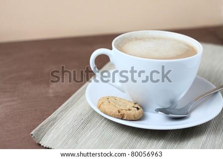 milk coffee - stock photo