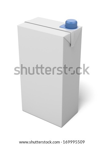 milk package - stock photo