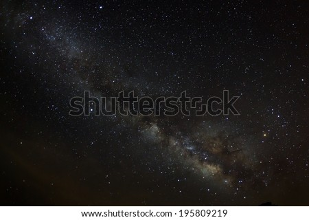 Milky Way  - stock photo