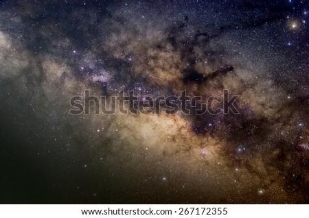 Milky way - stock photo