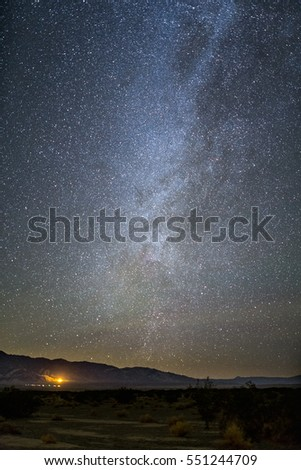 Milky Way in Panamint Valley