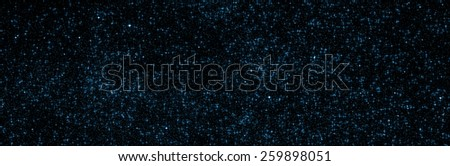 Milky way stars. Mosaic of several images taken through my telescope and retouched in photoshop. - stock photo