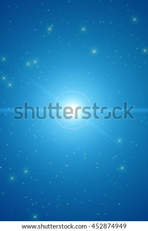 Milky Way stars. No elements of NASA or other third party.  - stock photo