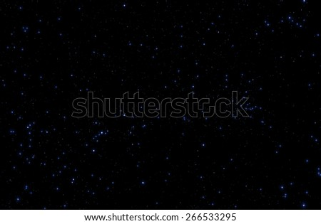Milky way stars on a black clipping background. Digital illustration. - stock photo
