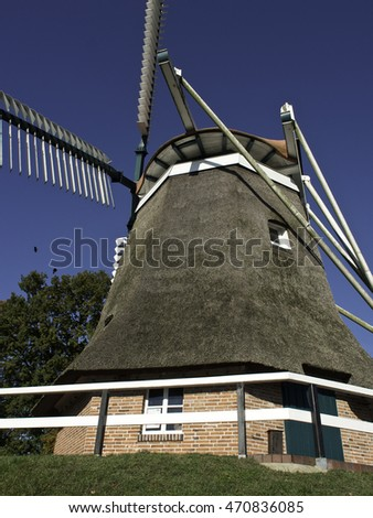 mill in frisia