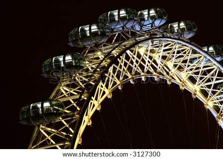 MILLENIUM WHEEL - stock photo