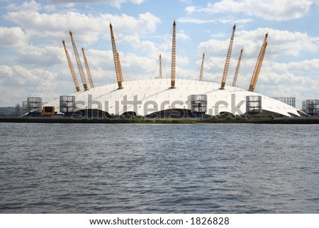 Millennium dome, London - stock photo