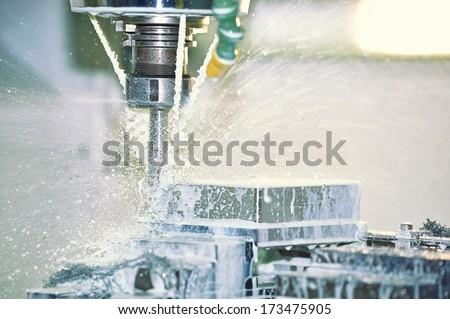 Milling Machine - stock photo