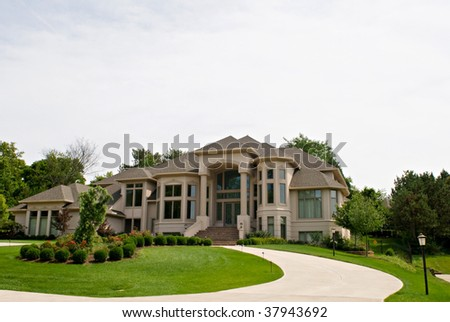 Million Dollar House - stock photo
