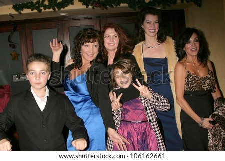 Mimi Lesseos and family   at the Los Angeles Screening of 'Double Duty'. Raleigh Studios, Los Angeles, CA. 12-13-08