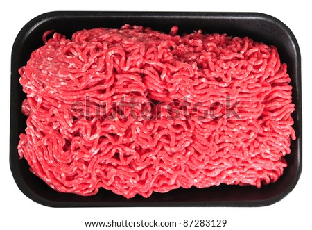 Mince meat. - stock photo