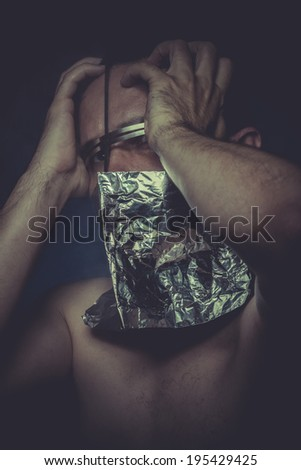 Mind, concept of mental disorder, schizophrenia and depression - stock photo