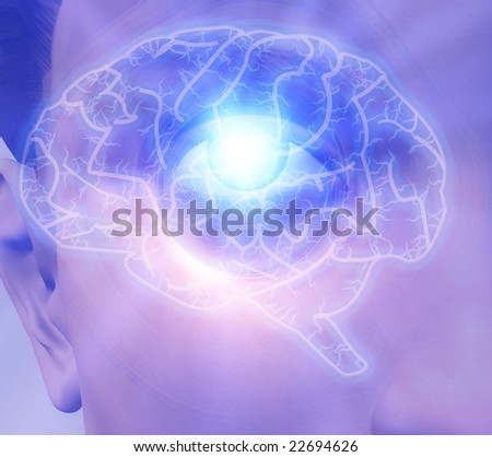 Mind Power - stock photo