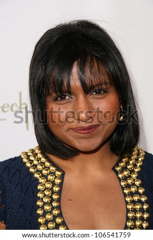 Mindy Kaling  at the 8th Annual Comedy for A Cure, a Benefit to raise Funds and Awareness for the Tuberous Sclerosis Alliance. Boulevard3, Hollywood, CA. 04-05-09 - stock photo