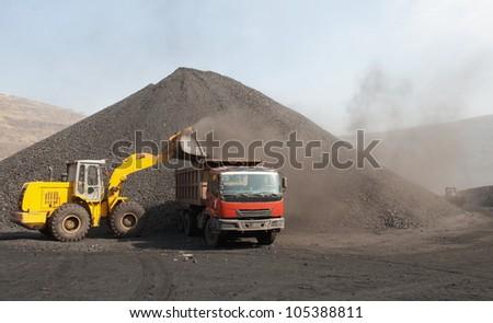 Mine - stock photo