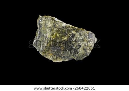 mineral asbestos - stock photo