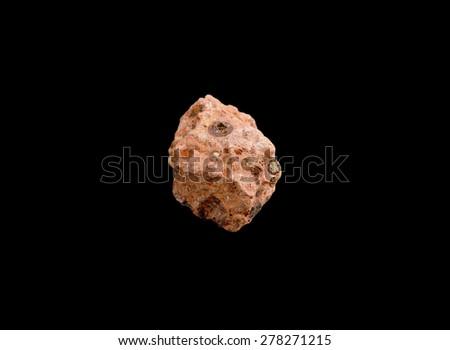 mineral Bauxite ( aluminium ore) - stock photo