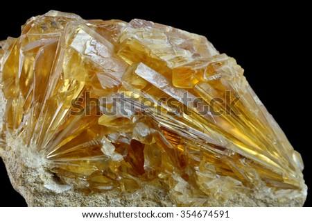 Mineral Calcite - stock photo