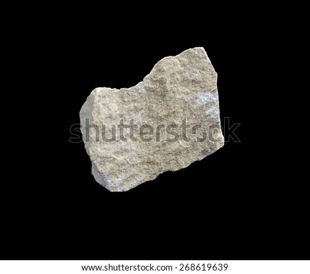 mineral dense limestone - stock photo