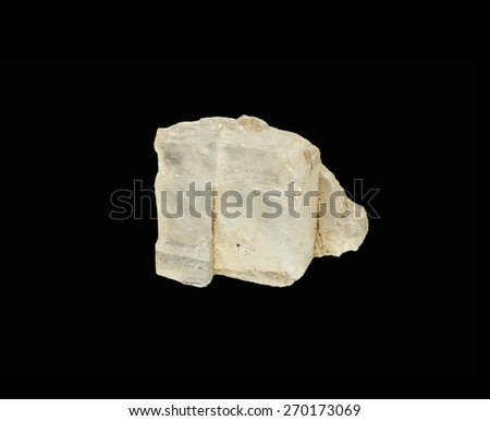 mineral Halite - stock photo