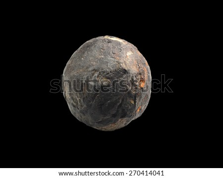 mineral Phosphorite ( Phosphoritkonkretion ) - stock photo