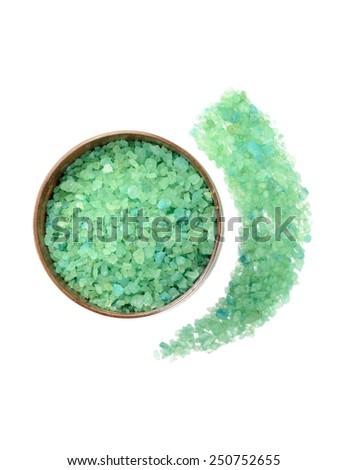Mineral salt - stock photo